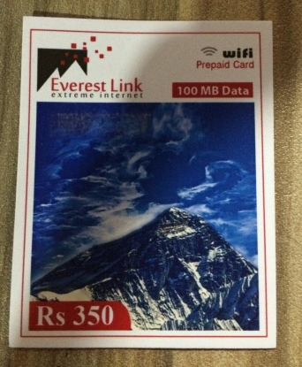 Everest Link WiFi card
